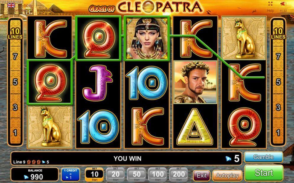 Grace-of-Cleopatra-Slot